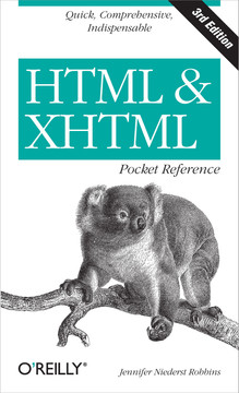 HTML and XHTML Pocket Reference, 3rd Edition
