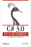 Cover image for C# 3.0 in a Nutshell, 3rd Edition