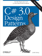 Cover image for C# 3.0 Design Patterns