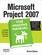 Cover image for Microsoft Project 2007: The Missing Manual