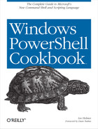 Cover image for Windows PowerShell Cookbook
