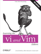 Cover of Learning the vi and Vim Editors, 7th Edition
