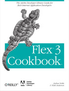 Cover image for Flex 3 Cookbook