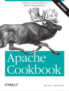 Cover of Apache Cookbook, 2nd Edition