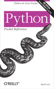 Cover image for Python Pocket Reference, 4th Edition