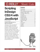 Cover image for Scripting InDesign CS3/4 with JavaScript