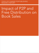 Cover image for Impact of P2P and Free Distribution on Book Sales