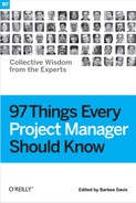 Cover of 97 Things Every Project Manager Should Know