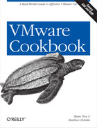 Cover image for VMware Cookbook