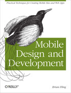 Cover of Mobile Design and Development