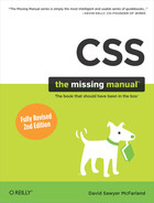 Cover of CSS: The Missing Manual, 2nd Edition