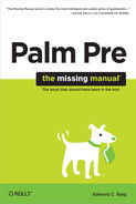 Cover image for Palm Pre: The Missing Manual