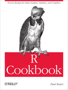 Cover image for R Cookbook