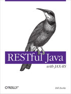 Cover of RESTful Java with JAX-RS