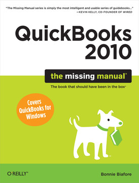 QuickBooks 2010: The Missing Manual
