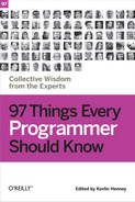 Cover of 97 Things Every Programmer Should Know