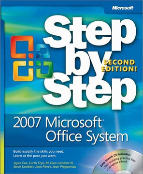 2007 Microsoft® Office System Step by Step, Second Edition