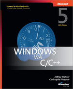 Cover of Windows® via C/C++, Fifth Edition