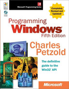 Cover of Programming Windows®, Fifth Edition