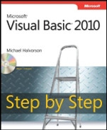 Cover of Microsoft® Visual Basic® 2010 Step by Step