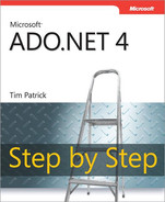 Cover of Microsoft® ADO.NET 4 Step by Step