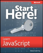 Cover of Microsoft® Start Here!™ Learn JavaScript