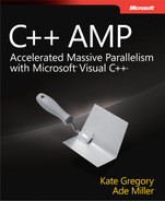 Cover of C++ AMP: Accelerated Massive Parallelism with Microsoft® Visual C++®
