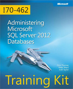 Cover of Training Kit Exam 70-462: Administering Microsoft® SQL Sever® 2012 Databases