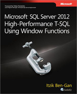 Cover of Microsoft® SQL Server® 2012 High-Performance T-SQL Using Window Functions