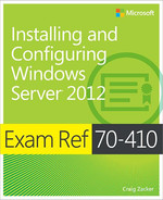 Cover of Exam Ref 70-410: Installing and Configuring Windows Server® 2012