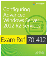 Cover of Exam Ref 70-412: Configuring Advanced Windows Server 2012 R2 Services