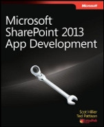 Cover of Microsoft® SharePoint® 2013 App Development
