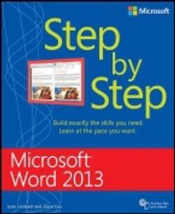 Microsoft® Word 2013: Step by Step