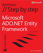 Cover of Microsoft ADO.NET Entity Framework Step by Step