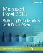 Cover of Microsoft Excel 2013: Building Data Models with PowerPivot