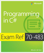 Cover of Exam Ref 70-483: Programming in C#