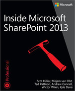 Cover of Inside Microsoft SharePoint 2013