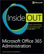 Cover of Microsoft Office 365 Administration Inside Out