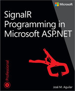 Cover of SignalR Programming in Microsoft ASP.NET