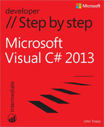 Cover of Microsoft Visual C# 2013 Step by Step