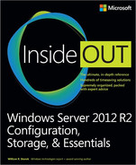 Cover of Windows Server 2012 R2 Inside Out: Configuration, Storage, & Essentials