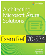 Cover of Exam Ref 70-534 Architecting Microsoft Azure Solutions