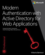 Cover of Modern Authentication with Azure Active Directory for Web Applications