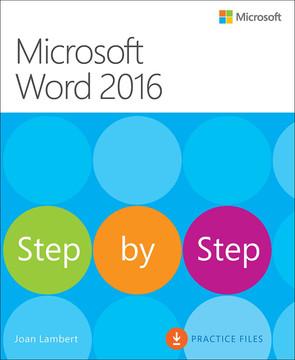 Microsoft Word 2016 Step by Step
