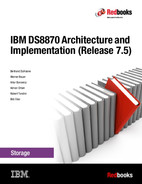 Book cover for IBM DS8870 Architecture and Implementation (Release 7.5)