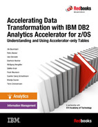 Cover of Accelerating Data Transformation with IBM DB2 Analytics Accelerator for z/OS Understanding and Using Accelerator-only Tables