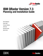 Cover of IBM QRadar Version 7.3 Planning and Installation Guide