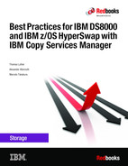 Best Practices for DS8000 and z/OS HyperSwap with Copy Services Manager