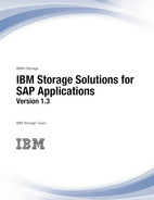 IBM Storage Solutions for SAP Applications Version 1.3