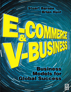 Cover of E-Commerce and V-Business